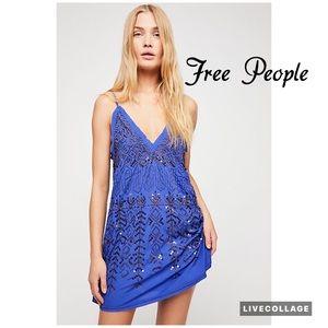 Free People Arizona Nights Embellished Slip